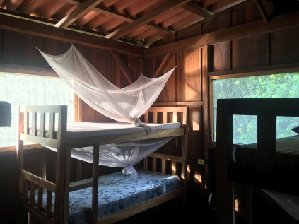 Room upstairs. The house sleeps 26.