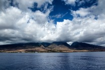 SWIM guests traveling by ferry to the island of Lanai to assist with marine debris efforts. PC: Jeff Biege Photography