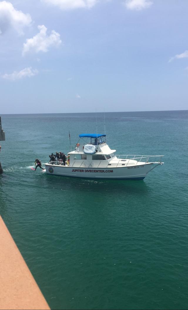 Jupiter Dive Boat